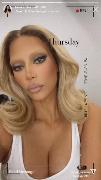 Фото №3 - Блондинка в законе: Ким Кардашьян осветлила брови, и теперь ее не узнать🤯