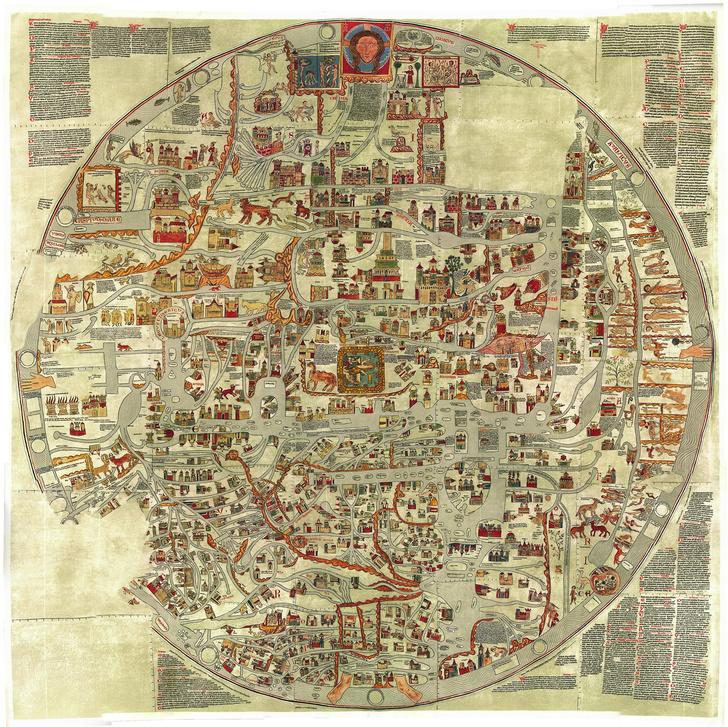 Фото №7 - Мир вверх тормашками: непривычно выглядящие географические карты