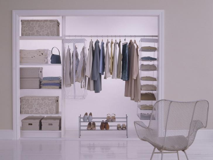 Фото №1 - Идеальная гардеробная: как обустроить комнату мечты