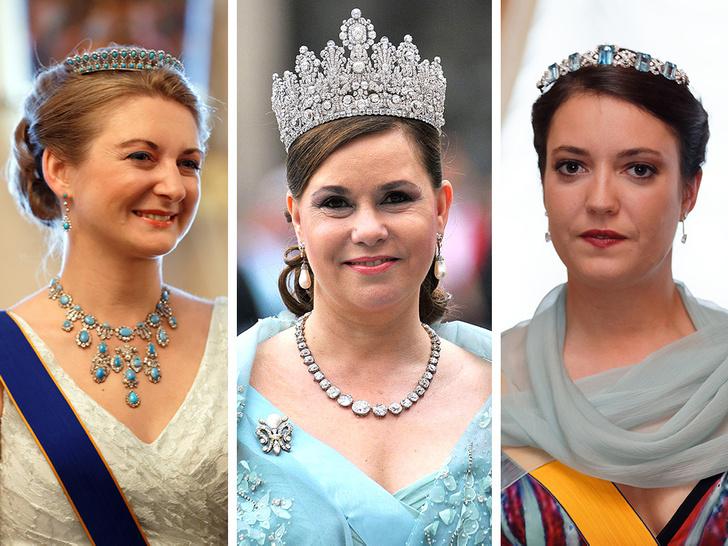 Фото №1 - Самые красивые и дорогие тиары королевской семьи Люксембурга