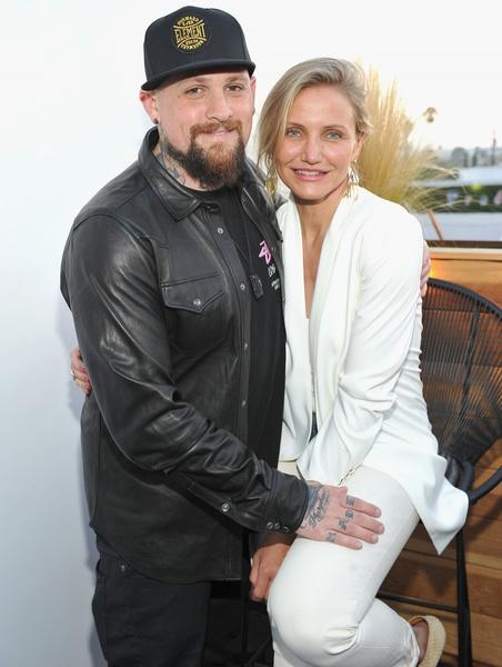 Камерон Диаз с мужем