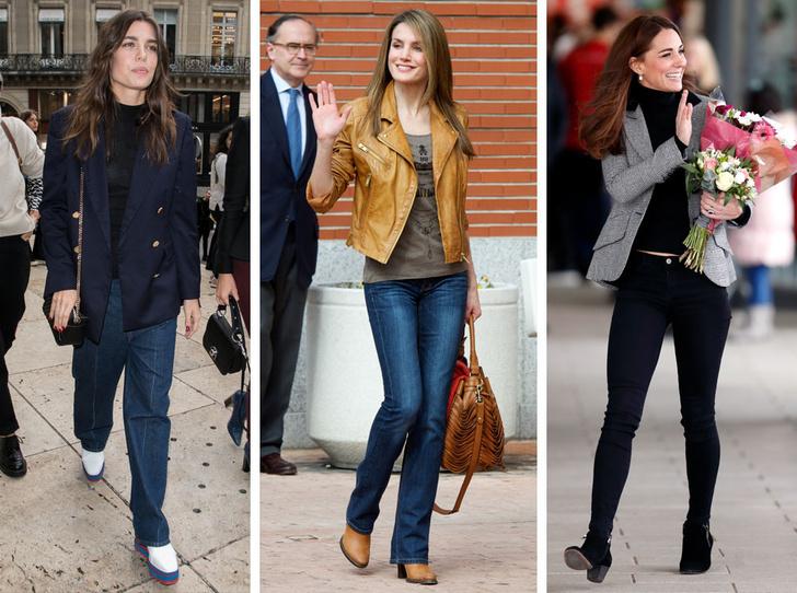 Фото №1 - Запретный плод: как королевские особы носят джинсы