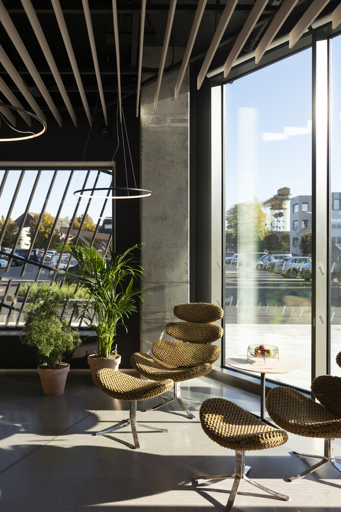 Фото №7 - Энергопозитивный офис по проекту Snøhetta в Норвегии