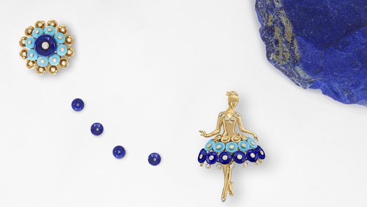 Фото №6 - Драгоценное па-де-де: украшения Van Cleef & Arpels, вдохновленные миром танца