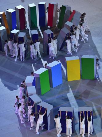 Фото №6 - Как прошло открытие Олимпиады в Токио: самые яркие кадры