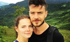 Матвеев показал беременную Боярскую и их подросшего сына