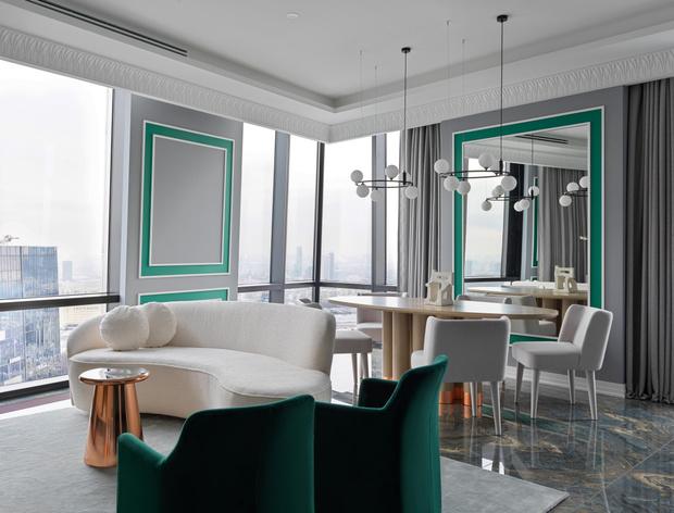 Фото №1 - Светлая квартира в классическом стиле в Москве