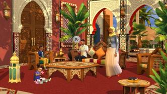 Фото №3 - Любуемся скринами свежего каталога «Личный оазис» для The Sims 4 ⛲