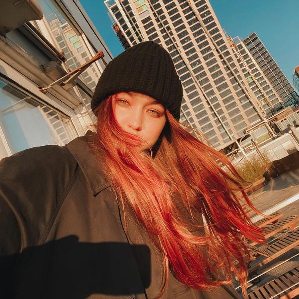 Фото №2 - Рыжие волосы: идея для летнего окрашивания от Джиджи Хадид