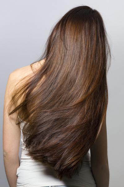 красивые русые волосы