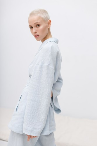 Фото №4 - Костюмы из органического хлопка, которые хочется носить все лето: коллекция Riri.moscow