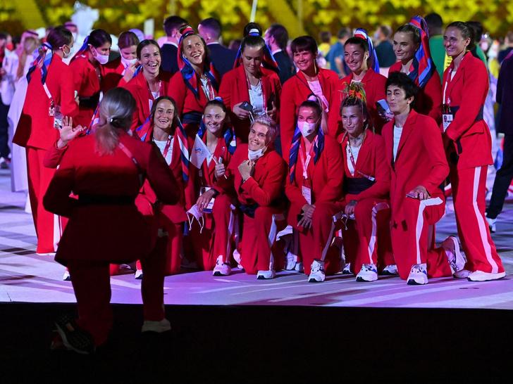 Фото №18 - Как прошло открытие Олимпиады в Токио: самые яркие кадры