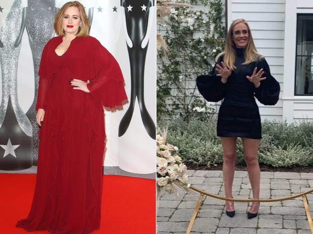 Как на самом деле похудела адель похудела после развода фото до и после 2020