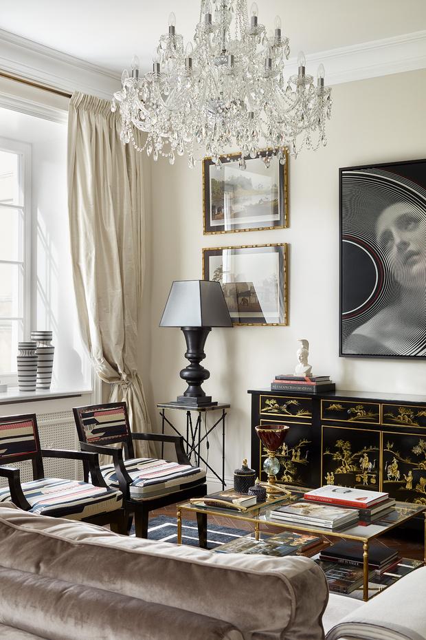 Фото №5 - Классическая квартира на Патриарших прудах