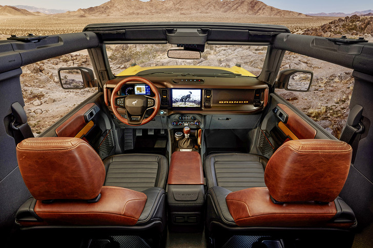 Фото №2 - Ford Bronco: легенда американских внедорожников XX века возвращается
