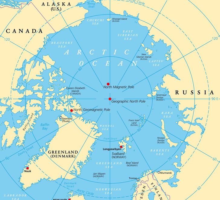 Фото №1 - Кому принадлежит Северный полюс?