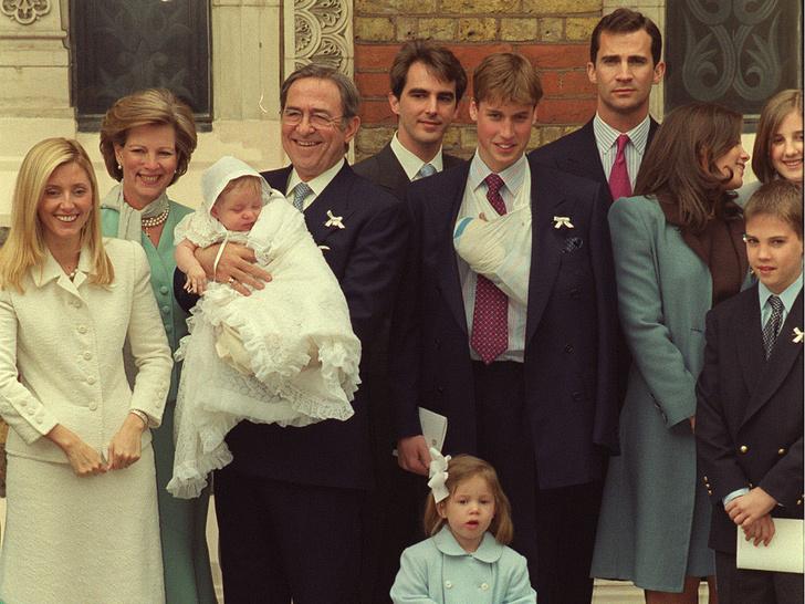 Фото №2 - Еще трое детей: крестники принца Уильяма, о которых вы не знали