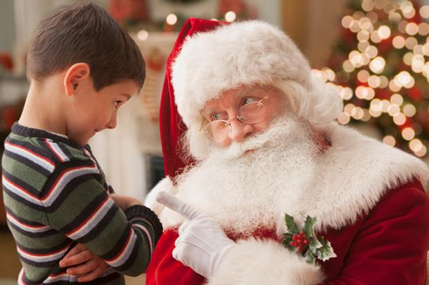 Фото №1 - Зачем рассказывать ребенку про Деда Мороза?