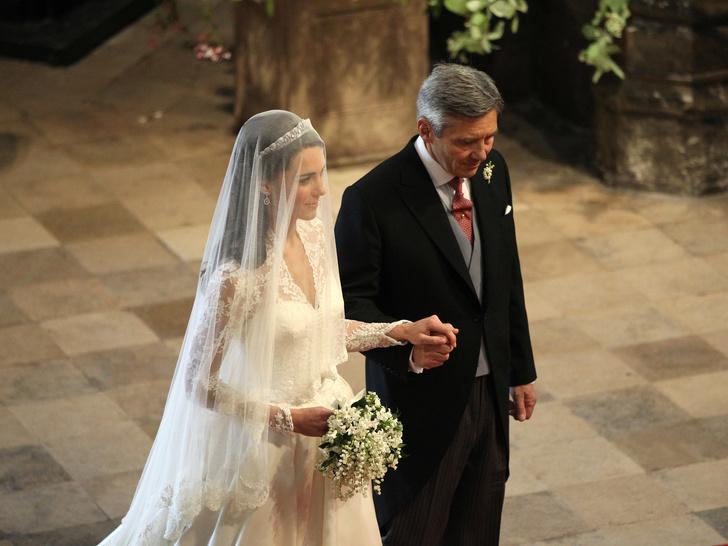 Фото №6 - Папины дочки: самые трогательные фото королевских невест с отцами