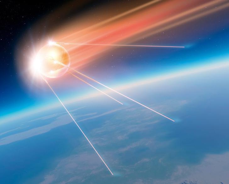 Фото №1 - Служба на орбите: 5 необычных искусственных спутников Земли
