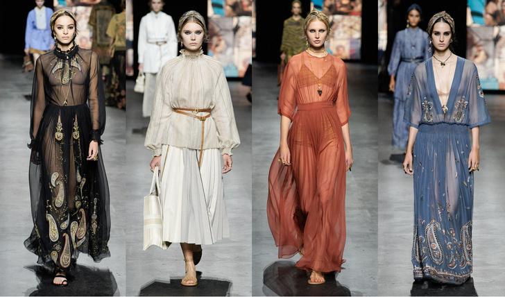 Dior, коллекция весна-лето 2021