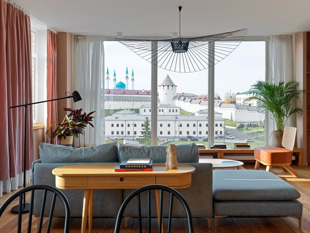 Фото №1 - Квартира 93 м² с видом на Казанский Кремль