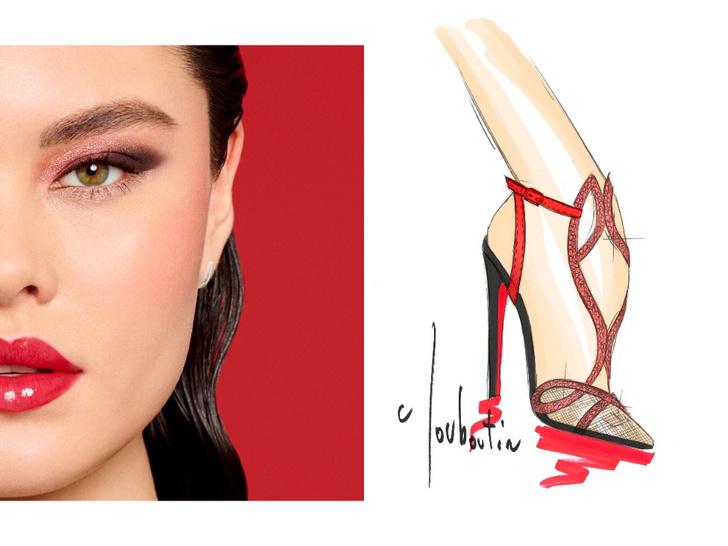 Фото №4 - Mix & match: 6 идей макияжа под 6 пар обуви