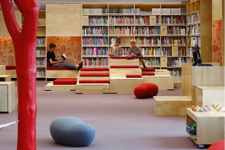 Фото №8 - Яркая библиотека для детей в Риге