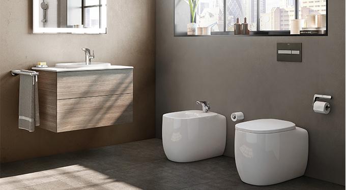 Дизайнерские решения для ванных комнат современного города