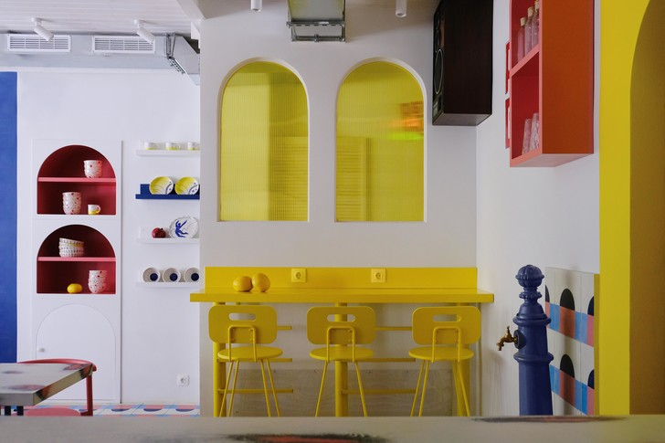 Фото №4 - Яркое кафе «Абу Гош» на Трубной улице