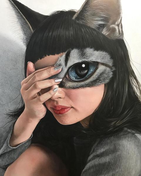 Фото №11 - Инстаграм дня: Японский художник, который рисует котиков