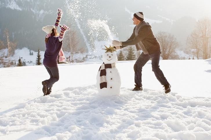 Идеи для романтических свиданий зимой с парнем