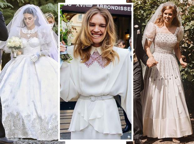 Фото №1 - Самые стильные звездные невесты 2020 года, которые нас впечатлили