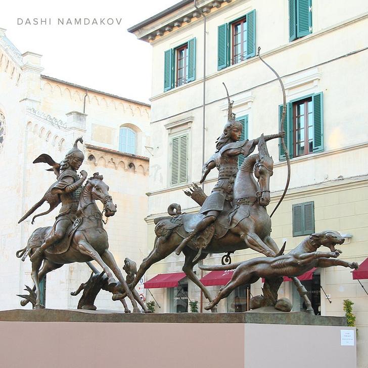 Фото №2 - Всемирно известный скульптор променял Англию и Италию на Читу, чтобы спасти родное село
