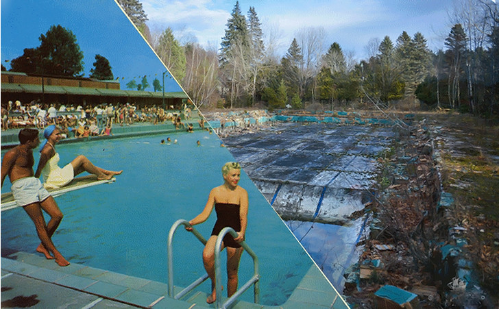 Фото №1 - Фото курортов и отелей до и после того, как они превратились в руины