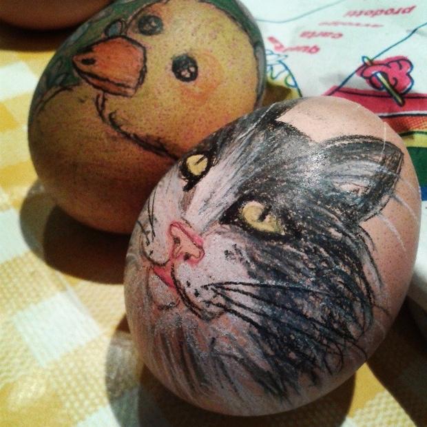Фото №15 - Как расписать яйца на Пасху: советует Instagram