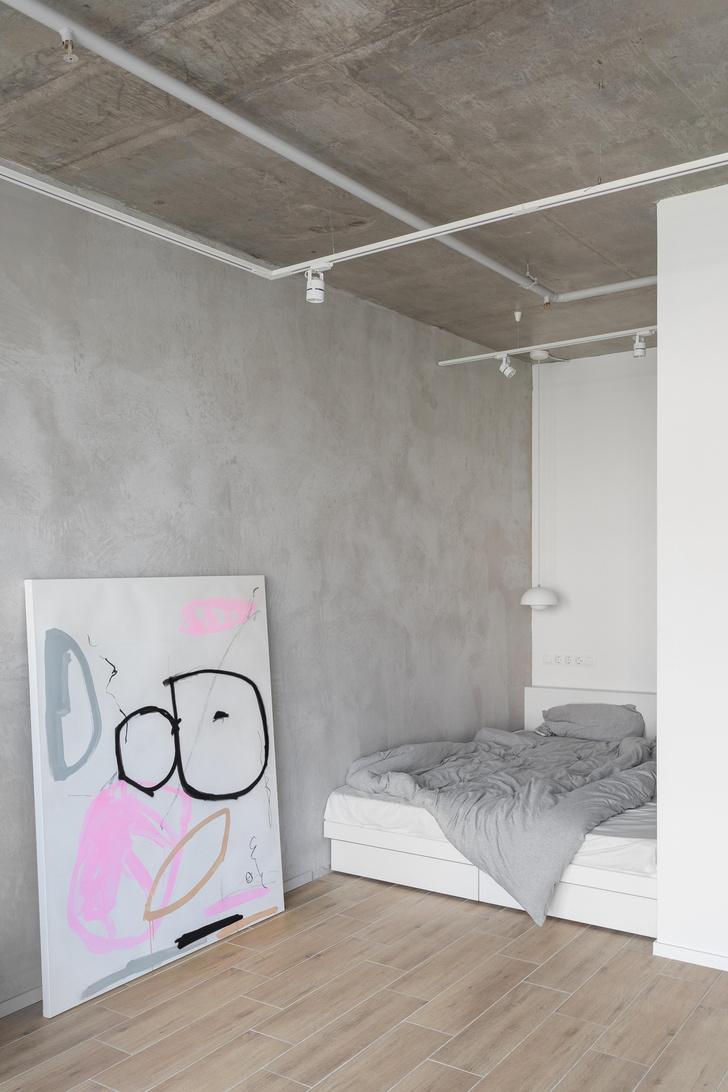 Фото №8 - Монохромная квартира 33 м² в Москве