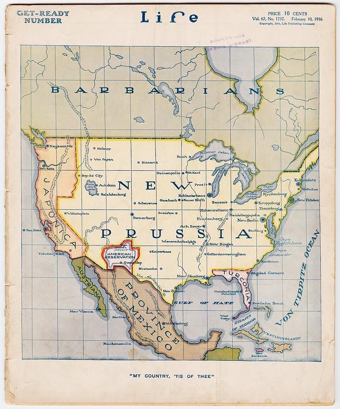 Фото №3 - Карты: Как западные страны, противники Германии, представляли себе ее победу в войне