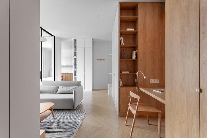 Фото №1 - Двухкомнатная квартира с многофункциональной планировкой