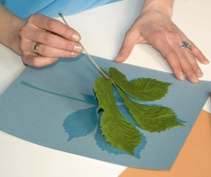 Фото №3 - Картины из листьев и цветов