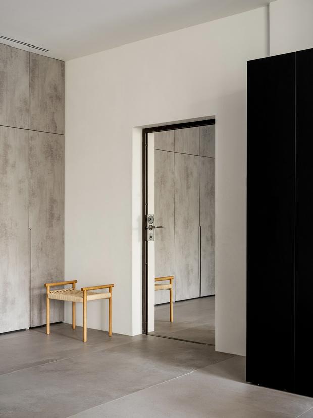 Фото №10 - За бетонной стеной: архитектурная квартира 125 м² в Москве