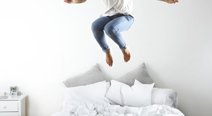 Отстаньте от себя в постели