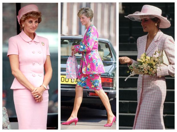 Фото №1 - От персикового до фуксии: как принцесса Диана носила розовый цвет (и почему он ей так шел)