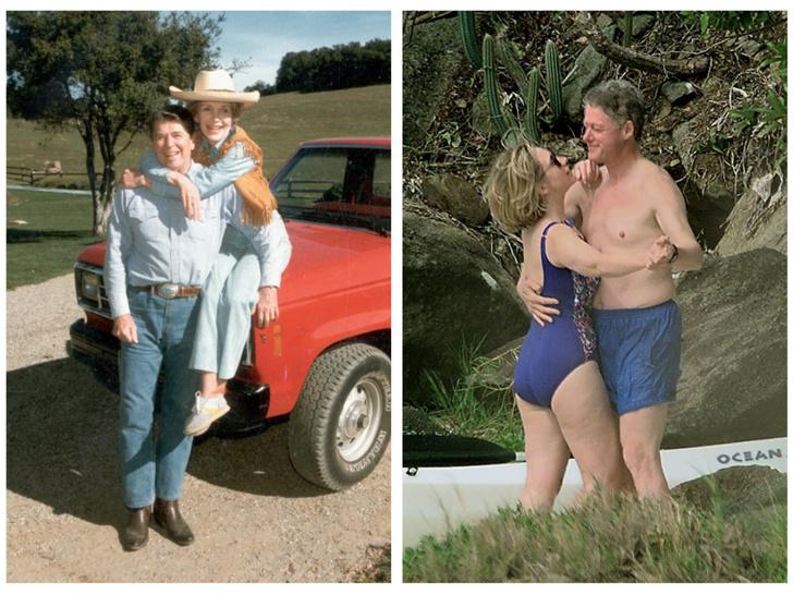 Фото №1 - Как отдыхают президенты и Первые леди: самые неформальные отпускные фото глав США с их супругами