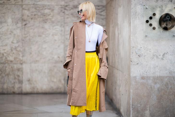 Фото №11 - Уроки стритстайла: как носить желтый