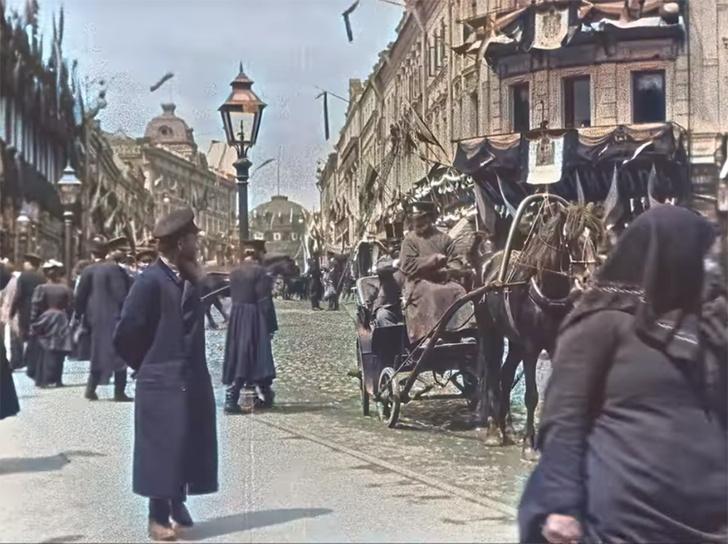 Фото №1 - Короткометражка недели: «Москва 1896 года» (документалка, 1896, Россия-Франция, 01:05)