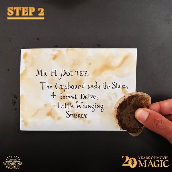 Фото №5 - DIY: как сделать себе письмо из Хогвартса 🦉