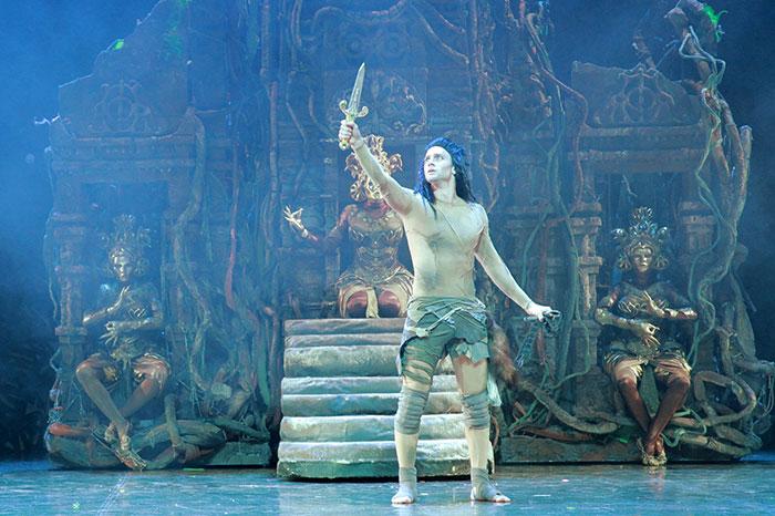 Фото №1 - Московский Губернский театр показывает спектакль «Книга джунглей. Маугли»