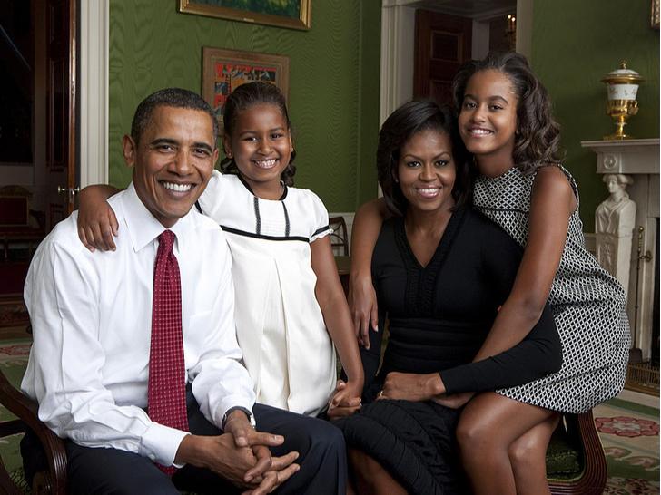 Фото №3 - Незавидная участь: почему Мишель Обама не хотела, чтобы ее муж стал президентом