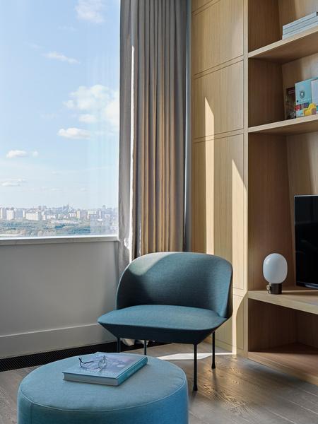 Фото №8 - Витает в облаках: квартира на 26 этаже в Москве